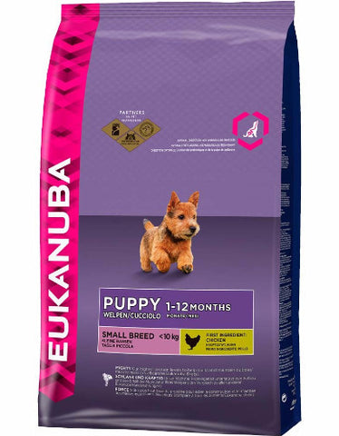 Eukanuba Puppy Small Breed Dry Dog Food (4 sizes)