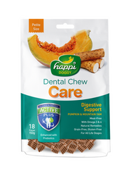 Happy Doggy Dental Chew Care Digestive  Support Dog Treat 150g (2 Sizes) | Perromart Online Pet Store Malaysia