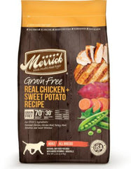 Merrick Grain Free Real Chicken & Sweet Potato Dry Dog Food (3 sizes)