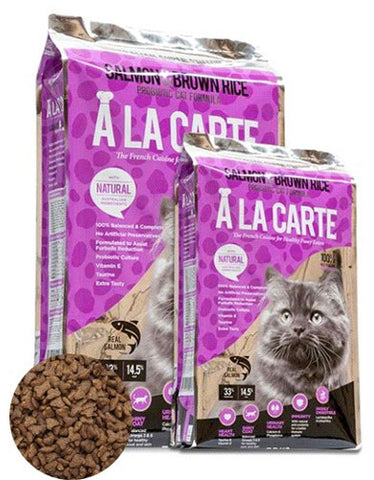 Ala Carte Salmon and Brown Rice Cat Dry Food | Perromart Online Pet Store Malaysia