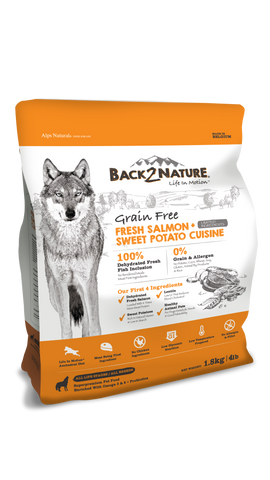 Back 2 Nature Grain Free Salmon Dry Dog Food | Perromart Online Pet Store Malaysia