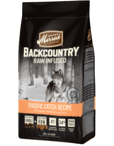 Merrick Backcountry Raw Infused Pacific Catch Recipe (2sizes)