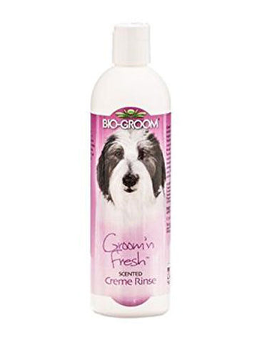 Biogroom Groom 'N Fresh Creme Rinse Conditioner 12oz | Perromart Online Pet Store MY