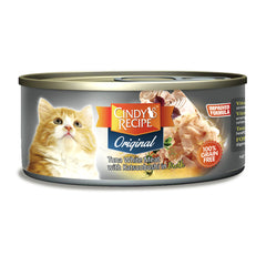 Cindy Original Tuna With Katsuobushi Broth Cat Wet Food
