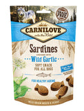 Carnilove Sardines with Wild Garlic Soft Snack Dog Treats 200g| Perromart Online Pet Store Malaysia