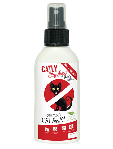Catly Stay Away Oragnic Spray for Cats 100ml| Perromart Online Pet Store Malaysia