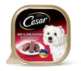 Cesar Beef and Liver Dog Wet Food (100g)