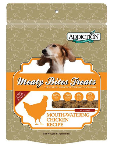 Chicken Meaty Bites Soft Treats 4oz - Grain Free | Perromart Online Pet Store Malaysia