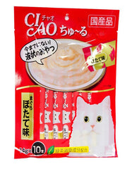 Ciao Chu-Ru White Meat Tuna Cat Treats | Perromart Online Pet Store Malaysia