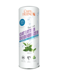 Cindy & Friends Cat Litter Deodorizer Powder (Green Tea) 500ml | Perromart Online Pet Store Malaysia