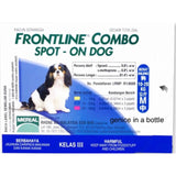 Frontline Combo Spot On Dog (2 Sizes)