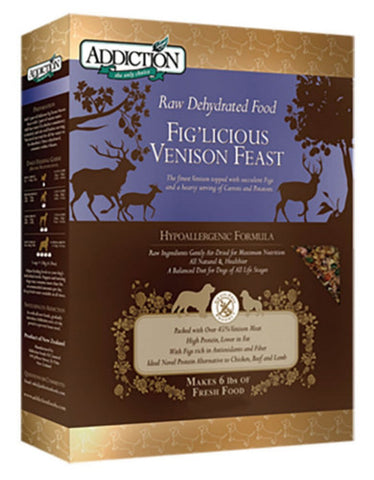 Fig'licious Venison Feast - Grain Free | Perromart Online Pet Store Malaysia