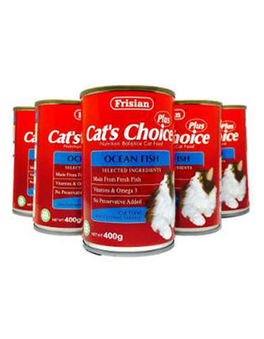 Frisian Cat's Choice Ocean Fish Cat Food 400g | Perromart Online Pet Store MY