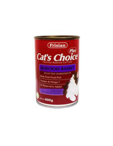 Frisian Cat's Choice Seafood Basket Cat Food | Perromart MY Online Pet Store