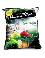Fussie Cat Apple Delight Cat Litter ( 2 Sizes ) | Perromart Online Pet Store Malaysia