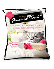 Fussie Cat Enchanted Rose Cat Litter ( 2 Sizes ) | Perromart Online Pet Store Malaysia