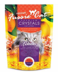 Fussie Cat Crystal Litter Lemon (2 Sizes) | Perromart Online Pet Store Malaysia