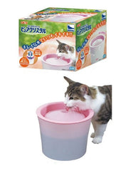 Gex Crystal Pure Drinking Bowl for Cat 2.3L (57180) | Perromart Online Pet Store Malaysia