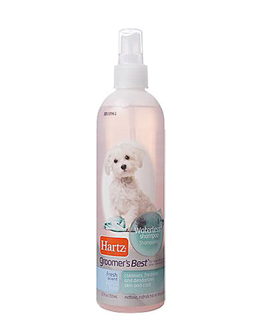 Hartz Groomer's Best Gentle Waterless Dog Shampoo | Perromart Online Pet Store Malaysia