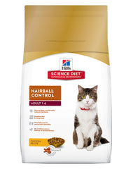 Hill's Science Diet Feline Adult Hairball Control Chicken Cat Dry Food | Perromart Online Pet Store Malaysia