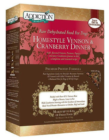 Homestyle Venison & Cranberry Dinner | Perromart Online Pet Store Malaysia