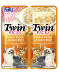 Inaba Cat Twin Packs Chicken Recipe in Chicken Broth Cat Wet Food 80g| Perromart Online Pet Store Malaysia