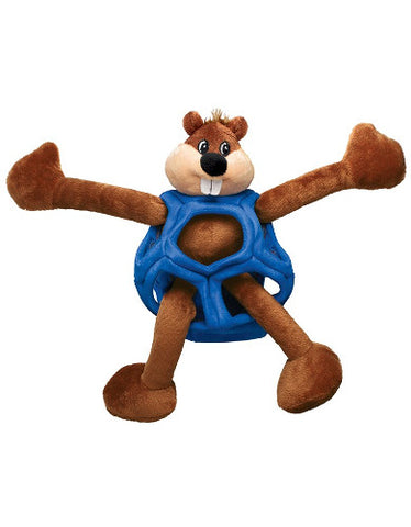 KONG Puzzlements Beaver Dog Toy