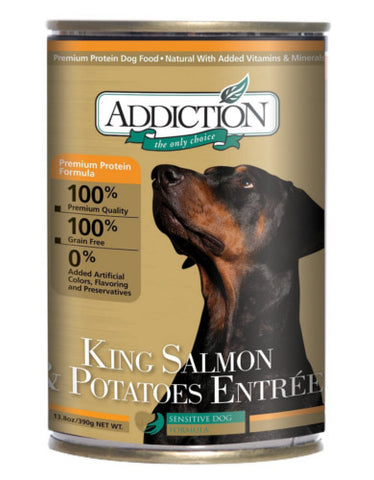 King Salmon & Potatoes Entrée 390g - Grain Free | Perromart Online Pet Store Malaysia