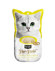 Kit Cat Purr Puree Chicken & Fiber Cat Treat | Perromart Online Pet Store Malaysia