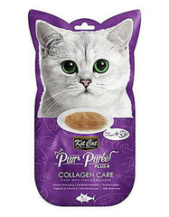 Kit Cat Purr Puree Plus Collagen Care Tuna Cat Treats | Perromart Online Pet Store Malaysia