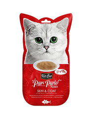 Kit Cat Purr Puree Plus Skin & Coat Tuna Cat Treats | Perromart Online Pet Store Malaysia