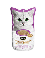 Kit Cat Purr Puree Tuna & Scallop Cat Treat | Perromart Online Pet Store Malaysia