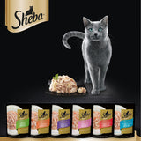 Sheba Tuna & Salmon Pouch Cat Wet Food 70gm