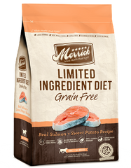 Merrick Grain Free Limited Ingredient Diet - Real Salmon & Sweet Potato Recipe