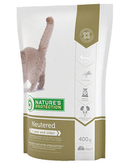 Natures Protection Neutered Unique Super Premium Cat Food | Perromart Online Pet Store Malaysia