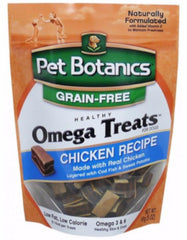 Pet Botanics Omega Treats Dog Treat - Grain Free, Chicken (3 Sizes) | Perromart Online Pet Store