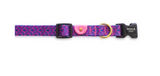 Gentle Pup Piper Pink Dog Collar (3 Sizes)