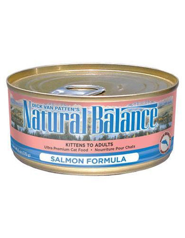 Natural Balance Salmon Formula Cat Wet Food 170g (6oz.)