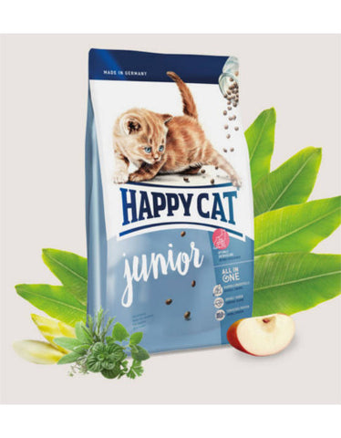 happy cat supreme junior cat dry food 4 sizes perromart malaysia