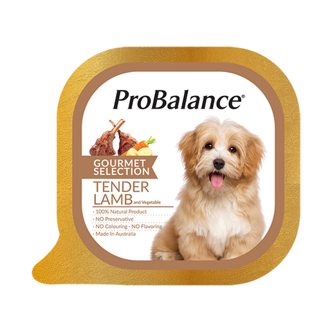 ProBalance Lamb and Vegetables Dog Wet Food 100g