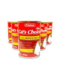 Frisian Cat's Choice Tuna, Sardine & Salmon Cat Food | Perromart MY Online Pet Store