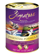 Zignature Zssential Formula Dog Canned Food | Perromart Online Pet Store Malaysia