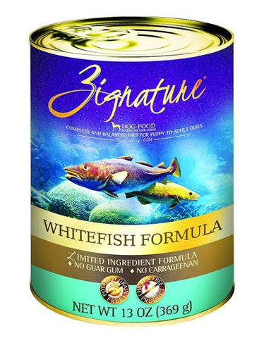 Zignature WhiteFish Formula Dog Canned Food | Perromart Online Pet Store Malaysia