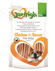 Jerhigh Snack Chicken Bacon Dog Treat | Perromart Online Pet Store Malaysia