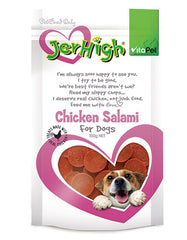 Jerhigh Snack Chicken Salami Dog Treat | Perromart Online Pet Store Malaysia