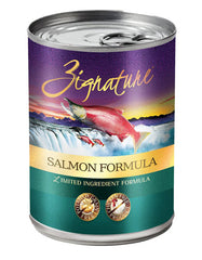 Zignature Salmon Formula Dog Canned Food | Perromart Online Pet Store Malaysia