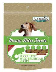 Wild Brushtail Meaty Bites Soft Treats 4oz - Grain Free | Perromart Online Pet Store Malaysia