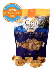 Alps Natural Cod Supreme Salmon Roll Dog Treats | Perromart Online Pet Store MY