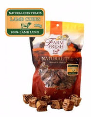 Alps Natural Farm Fresh Lamb Cube Lung Dog Treats | Perromart Online Pet Store MY