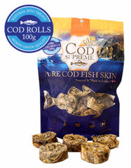 Alps Natural Cod Supreme Cod Rolls Dog Treats | Perromart Online Pet Store MY